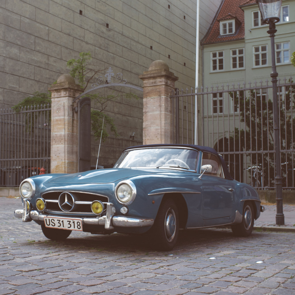 Mercedes-Benz W121 B II (190 SL)